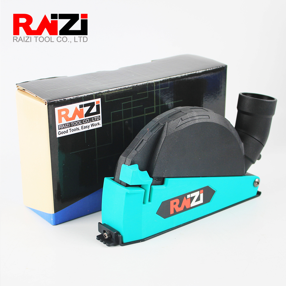Raizi 5 Inch/125 Mm Universal Dust Shroud Kit Dry Cutting Cover Tool For Angle Grinder