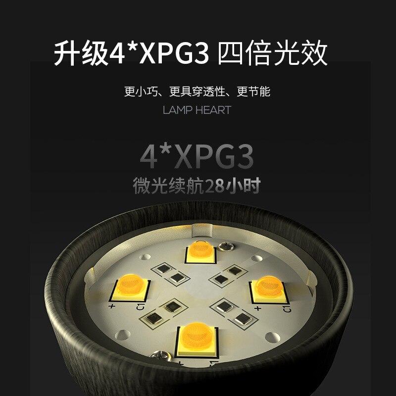 Niwalker Esquare MM6S (cG) 301ST Высокая мощность мини фонари USB Перезаряжаемый Мини Многофункциональный фонарь 3500 люмен маленький фонарь - 3