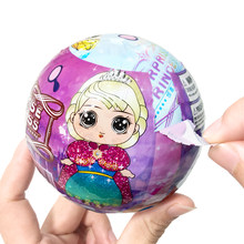 Surprise Gift Fashion Doll Blind Box Egg Multi Princess Model Action Figure Random One Blind Bag Cartoon Toy for Girl Birthday(China)