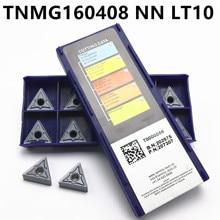 TNMG160408- NN LT10 original CNC blade carbide turning tool 10PCS tnmg160408 milling and