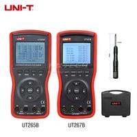 UNI-T UT265B Auto Dubbele Klem Digitale Fase Meter VA Volt Ammeter Power Factor Tester Power Meter w/FRS-232 & LCD Backlight