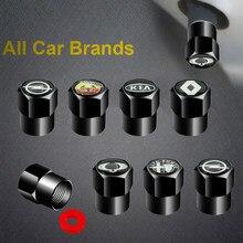 4 pçs tampões de válvula de pneu de roda de metal para mini coopers clubman r55 r56 countryman r60 paceman r61 r50 r53 r57 acessórios de bens automóveis