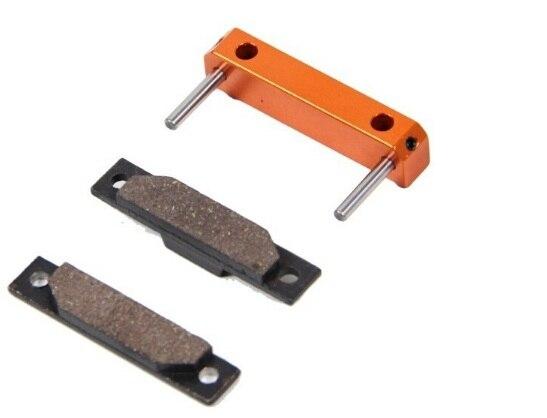 CNC Alloy Brake Pad Set Fits 1/5 Hpi Baja 5b Km Rovan