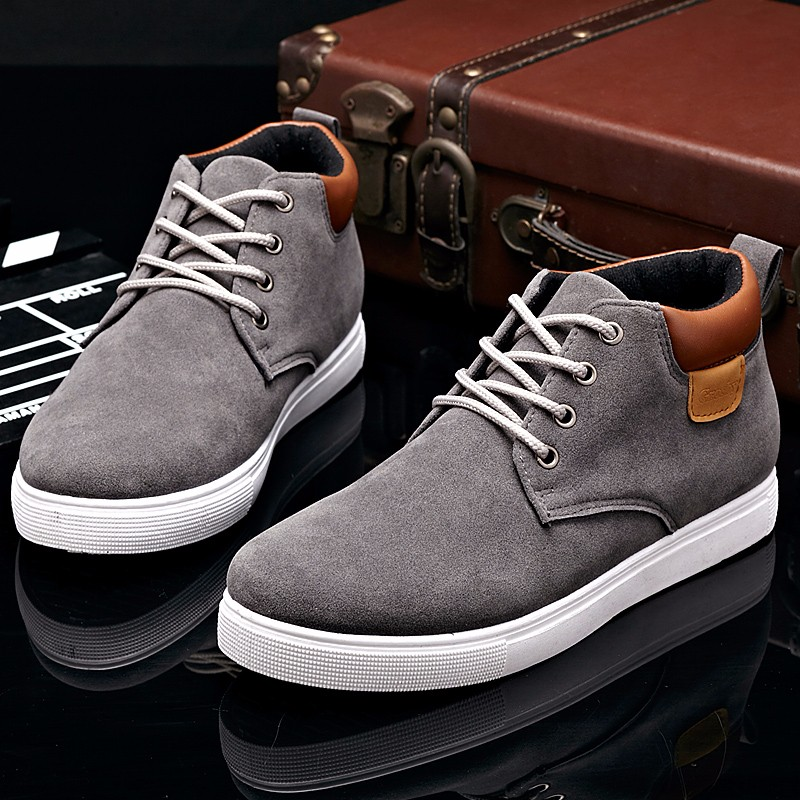 YWEEN Men 39 s Casual Shoes Cotton Spring Autumn Lace up Shoes Men High Style Youth Ankle Shoes Top Fashion in Men 39 s Casual Shoes from Shoes