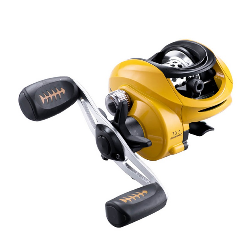 New Yellow Baitcasting Reel 18 Ball Bearings Fishing Gear Water Drop Wheel Right/Left Hand Bait Casting Fishing Reel Lure Reel