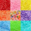 Разноцветные 6 мм прозрачные квадратные Смешанные Буквы Алфавита акриловые разделительные бусины для изготовления ювелирных изделий «сде...