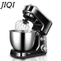 JIQI 4L 600W Household Electric Chef Machine table mixing blender 220V kitchen tools cooking food stand mixer cake dough bread