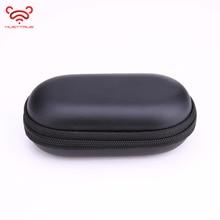 MUSTTRUE Headphone Case Bag Portable Earphone Earbuds Hard Box Storage for Memor