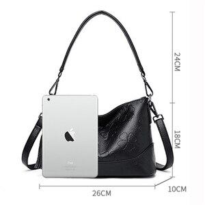 Image 4 - Fashion Printing Ladies Shoulder Bag Luxury Handbags Designer Elegant Tassel Bags for Women High Quality Purses and Handbags Sac