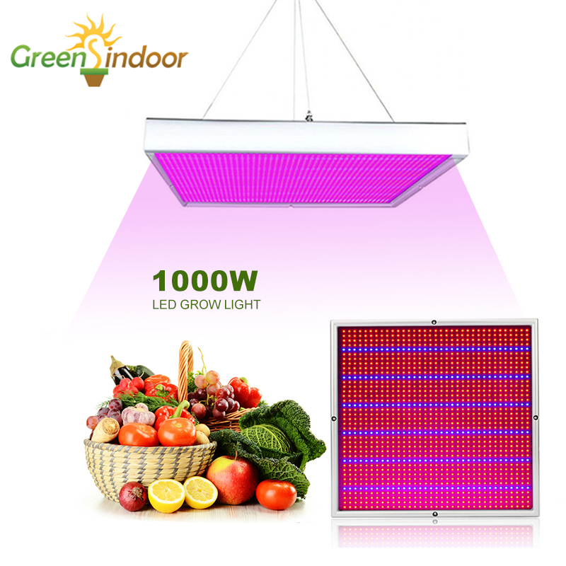 Grow Tent LED Grow Light 1000W Phyto Lamp For Plants Full Spectrum Growth Lamps Panel Led Lights For Indoor Growing Fitolampy
