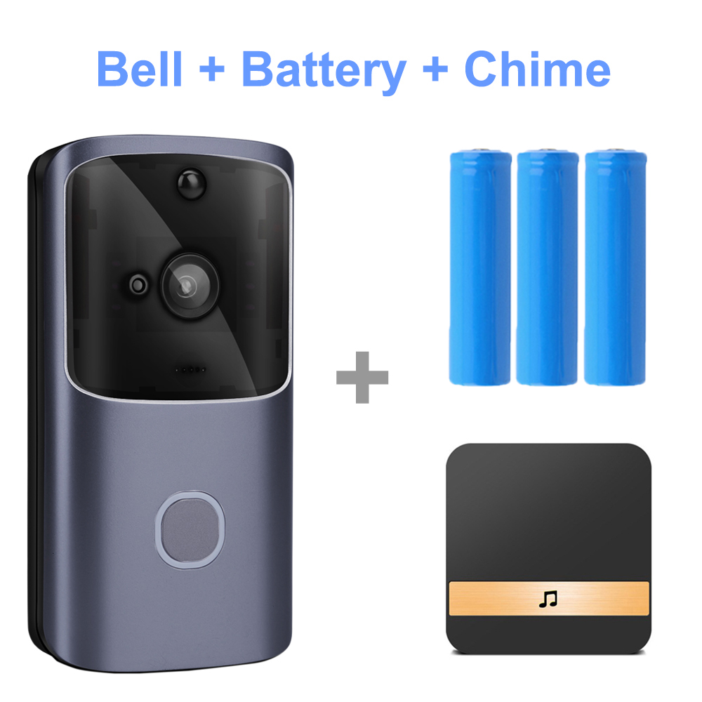 HISMAHO WIFI Doorbell Video Door Intercom 720P HD Wireless Smart Home IP Door Bell Camera Security Alarm IR Night Vision 5