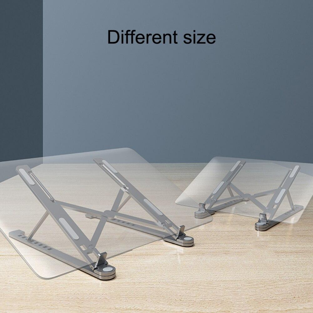 ajustável liga de alumínio desktop portátil titular