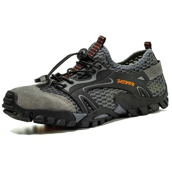 Mens hiking boot waterproof shoes tactical military boots sneakers men Outdoor Non-slip hiking shoes men Comfortable water shoes