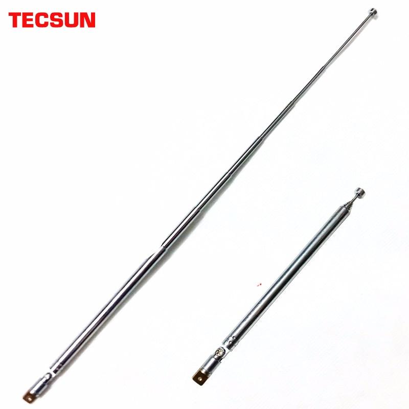 Tecsun Original Antenna 360-degree rotating rod Replacement Radio PL-660 PL-600 PL-310 PL-380 R-9012 PL-360 D-808 PL-880 S-2000