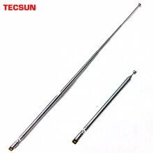 Tecsun oryginalny antena radiowa 360 stopni obrotowy pręt wymiana radio PL 660 PL 600 PL 310 PL 380 R 9012 PL 360 PL 880 S 2000