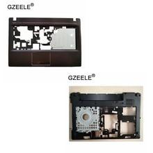 Новинка, верхняя крышка GZEELE для Lenovo G480 G485, Упор для рук, верхний корпус + нижняя крышка корпуса, чехол для ноутбука с проводным рисунком, сменн...