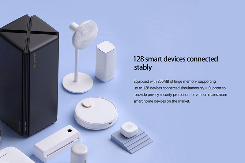2020 New Xiaomi AX1800 Router Mesh WIFI 5G Dual-frequency 256MB 2.4G 5G Full Gigabit OFDMA High Gain 2 Antennas Wireless Router