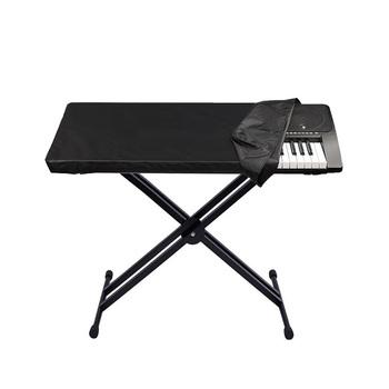 Super praktyczne fortepian pokrywa odporne na kurz pokrywa dla wodoodporny regulowany klawiatura fortepianowa dla 61-Key klawiatura tanie i dobre opinie piano cover