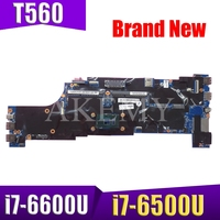 Akemy For Lenovo ThinkPad T560 W560S P51S P50S T560 Laotop Mainboard T560 Motherboard 01AY312 with i7 6500U i7 6600 CPU-in Laptop-Hauptplatine aus Computer und Büro bei
