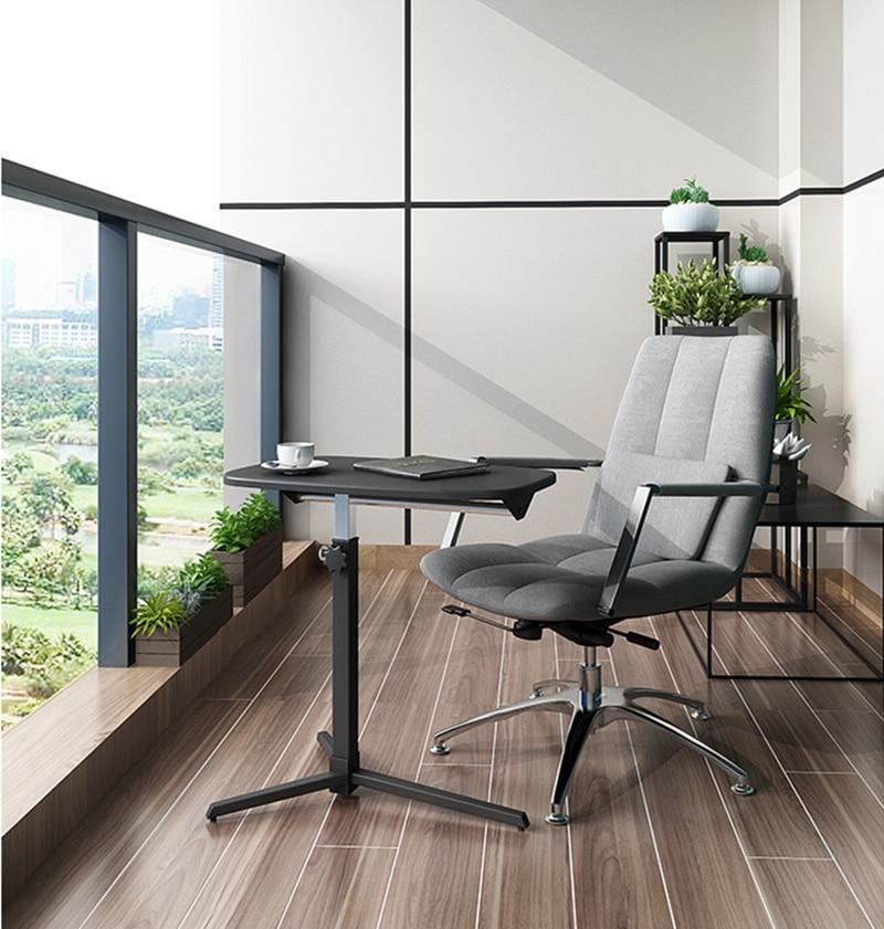 Foldable Desk Movable Sofa Side Table Adjustable Laptop Desk Bedside Table Can Be Lifted Standing Desk Furnished Office