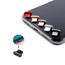 Capa de liga de alumínio portátil, cobertura anti poeira para carregador de iphone 11 x xr max 8 7 6s plus