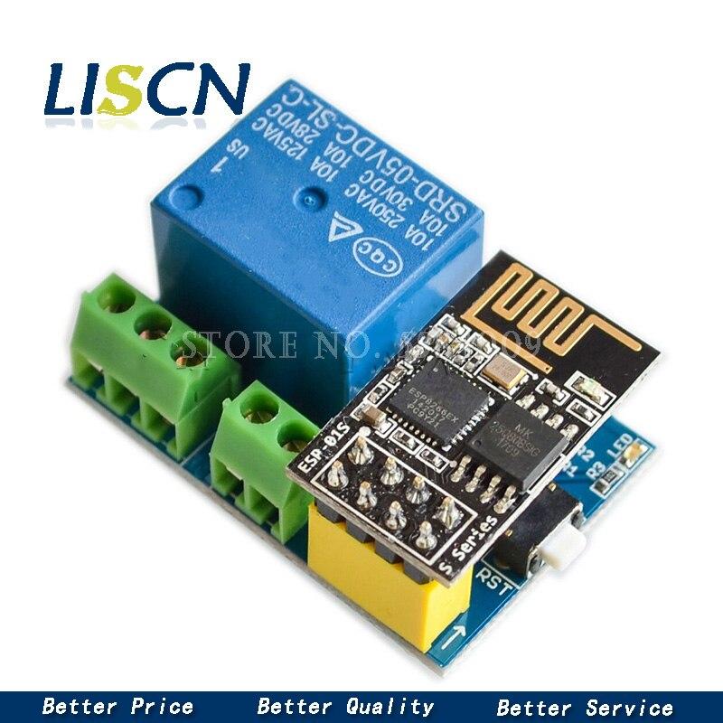 ESP8266 5 в Wi Fi Релейный Модуль DS18B20 DHT11 RGB светодиодный пульт управления, умный дом, пульт дистанционного управления, телефонное приложение, ESP 01|Реле|   | АлиЭкспресс