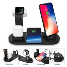 Newest 3 in 1 Charging Stand for iPhone Airpods Apple Watch micro Type-c phone Rotatable Charger Multi Function