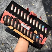 12PCS/LOT Capsule Bright Shimmer Eyeshadow Palette Glitter Metallic Pigment Eyeshadow Pallete Waterproof Makeup Palette Cosmetic