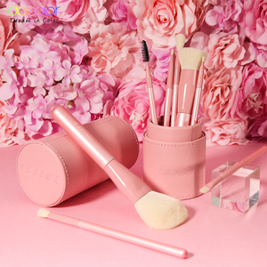 Image 5 - Brochas de maquillaje Docolor Professional 8 uds, brocha de maquillaje, base, sombra de ojos, rubor, mezcla de maquillaje, juego de brochas con soporte para brochas