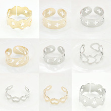 2019 New Fashion Ring Star Dazzling Open Finger Ring For Women Girls Knuckle Ring Jewelry Bijoux Birthday Gifts Wholesale WD664