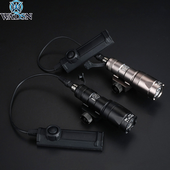 Airsoft Surefir M300 M300A Mini Scout Weapon Flashlight Torch Tactical Hunting Rifle light with Dual Function Tape Switch Button remote pressure switch scout weapon light tail dual button outdoor hunting led flashlight peq 16a m3x accessories wne04040