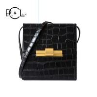 Women Bag 2020 Genuine Leather Personality Fashion Designer Luxury New Handbags Crossbody Messenger Shoulder Square Bags