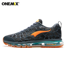 ONEMIX Men Running Shoes Women Sneakers Breathable Mesh Vamp Light Trail Trainers Best Road Jogging Sport Shoes(China)