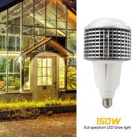 150W LED Phyto Lamp Full Spectrum LED Grow Light Fitolampy Bulbs LED Lamp For Plants Seeding Plants Vegs Phyto Lamp Growth