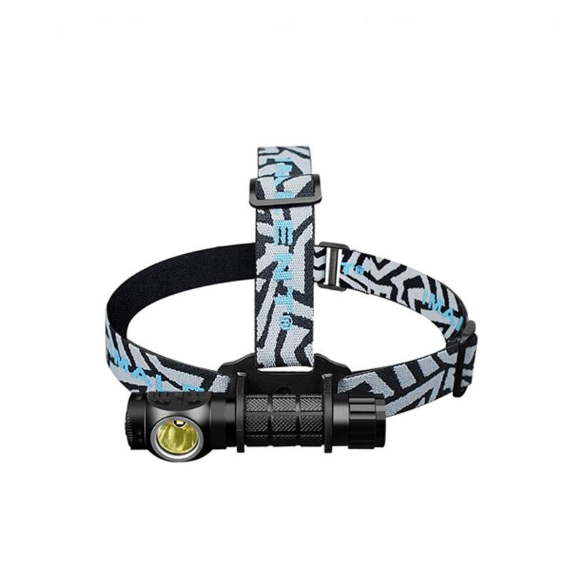 Imalent 20-28mm Hohe Qualität Nylon Einstellbare Led-scheinwerfer Stirnband für Outdoor Camping Taschenlampe Scheinwerfer Lampe Zubehör