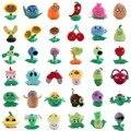 1 шт в возрасте от 13 до 20 см с изображением героев «Plants vs Zombies Растения против Зомби Плюшевые игрушки куклы из игры «Подсолнух Chomper дыни фигуро...