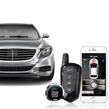 Giordon For Skoda Remote Start Keyless Entry Car Engine Central Locking Starline Car Alarm System Automatic Start Stop