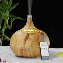 KBAYBO 400ml Air humidifier remote control aromatherapy aroma oil diffuser mist maker 7 colorful LED night light for home office 420ml large capacity air humidifier essential oil aroma diffuser remote control led night light for office home desktop