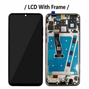 Image 3 - 화웨이 P30 라이트 MAR L01A LX1A LX2 L21A LX3A LCD 전체 디스플레이 화면 터치 디지타이저 어셈블리 노바 4e 디스플레이에 대 한 프레임 LCD