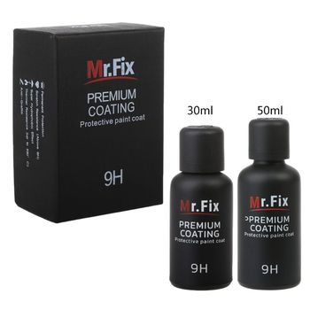 Paint Care 9H Car Oxidation Liquid Ceramic Coat Super Hydrophobic Glass Coating Set Car-Styling 30ml hardness 10h super hydrophobic car glass coating car liquid coat paint care durability anti corrosion coating set