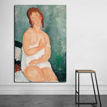 Sexy Women Amedeo Modigliani Canvas Painting Print Living Room Home Decor Artwork Modern Wall Art Oil Painting Posters Pictures classic amedeo modigliani picasso artwork collection sketch canvas print painting poster wall pictures living room home decor