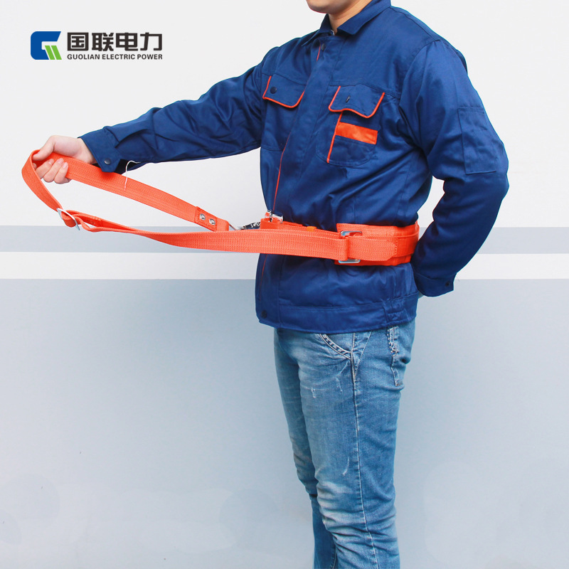 High-Altitude Homework Safety Belt Architecture Construction Protection Safety Belt National Standard Quality All-directional Pr