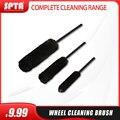 Щетка для чистки колес SPTA S/M/L, чистящая щетка из черной шерсти, инструменты для очистки автомобиля, мягкая щетка для колес