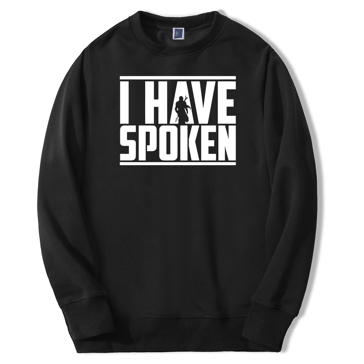 The Mandalorian Mens Star Wars Sweatshirts Hoodie Fleece Streetwear Crewneck Spring Autumn Sweatshirt I Have Spoken Sportswear