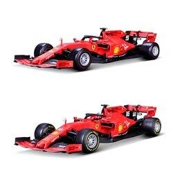 Bburago 1:18 F1 2019 SF90 #5 Sebastian Vettel #16 Charles Leclerc Racing Diecast Auto