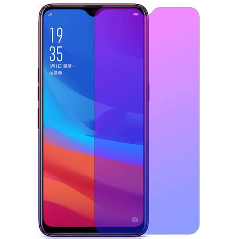 Tempered Glass For OPPO A9 A5 2020 A5S Anti Blue Glass Screen Protector For OPPO AX5S AX5 A1 A3 A3S A7 A7X A7N A9 A9X A11 A11X image
