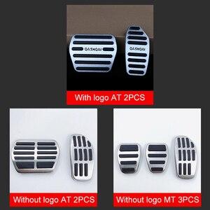 Image 4 - Pedal de freno y acelerador de coche de aleación de aluminio, protector de embrague para Nissan Qashqai j11 2013 2018 2014 2018 accesorios