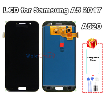 100% tested For SAMSUNG Galaxy A5 2017 A520 A520F A520K LCD Display with Touch Screen Assembly Replacement AAA TFT Quality 100% tested aaa quality for samsung galaxy a5 2015 a500 a500f a500m replacement lcd display with touch screen digitizer assembly