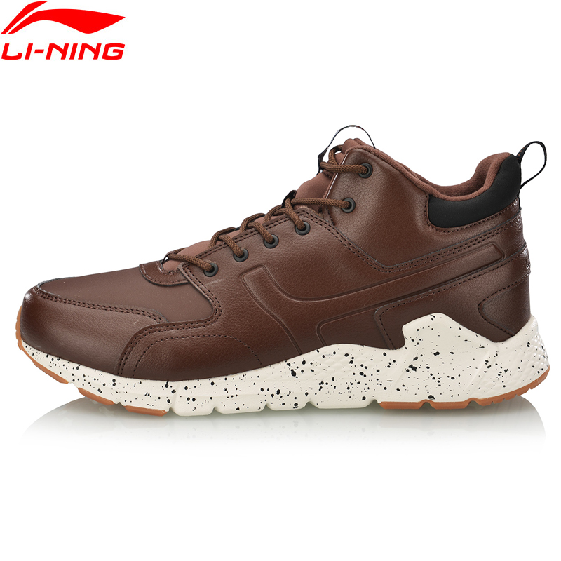 (Break Code)Li-Ning Men LN VOLCANO Lifestyle Shoes Warm Fleece Durable LiNing Li Ning Sport Shoes Winter Sneakers AGCN117 YXB255