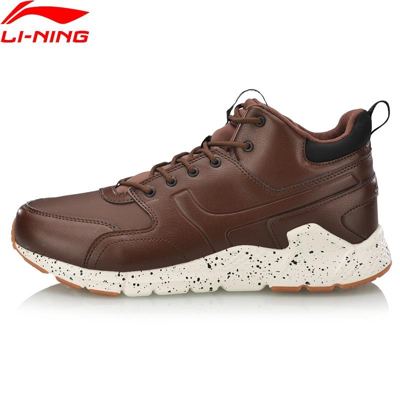 (Break Code)Li-Ning Men LN VOLCANO Lifestyle Shoes Warm Fleece Durable LiNing Li Ning Sport Shoes Winter Sneakers AGCN117 YXB255